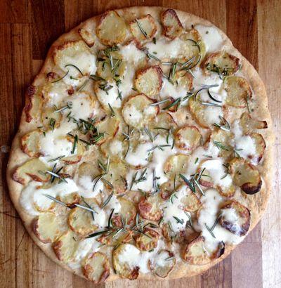Hvid pizza - let og lækkert... - Quindeliv